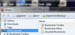 Windows 7 Version of Firefox 13.0 Bookmarks
