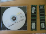 Ubuntu Live CD plus 2 broken memory chips