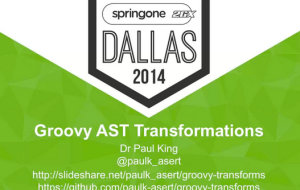Groovy AST Transforms